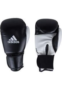 Luvas De Boxe Adidas Power 100 Smu Colors - 10 Oz - Adulto - Preto/Branco