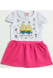 Vestido Infantil Meu Malvado Favorito Minions