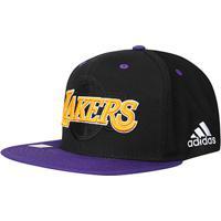084006aafcbad Boné Adidas Los Angeles Lakers Aba Reta - Unissex