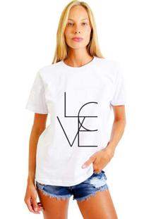 Camiseta Feminina Joss 4Love Branco
