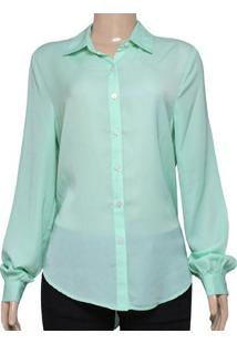 c5668ba04812d Camisa Fem Cavalera Clothing 09.05.0297 Verde Cidra