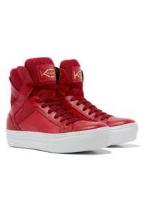 Sneaker K3 Fitness Easy Vermelho