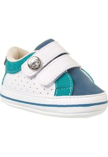 Sapato Bebê Masculino Klin Recém-Nascido Velcros - Masculino