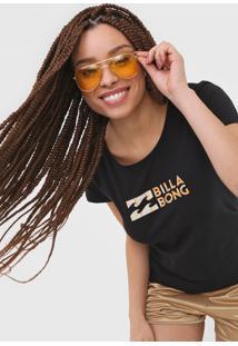 Camiseta Billabong Made Of Sun Preta