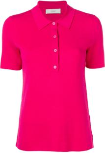 Pringle Of Scotland Camisa Polo Lisa - Rosa
