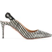 d3da0b37ec Aquazzura Sapato Listrado Com Tira Posterior - Preto
