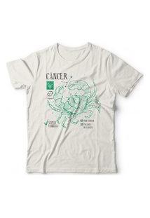 Camiseta Signo Câncer Off-White