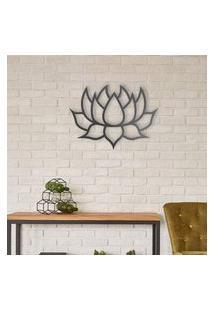 Escultura De Parede A Laser Lotus Único