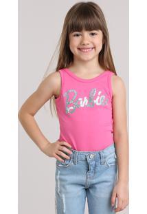 Body Barbie Com Paetês Pink