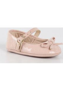 Sapato Infantil Bebê Verniz Laço Molekinha 2901103