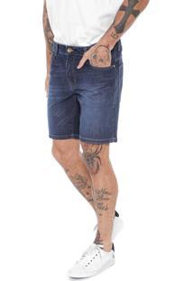 Bermuda Jeans Colcci Reta Benjamin Azul