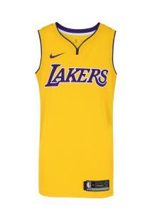 9031c030f Camisa Regata Nike Nba Los Angeles Lakers Home Blnk - Masculina - Amarelo  Roxo