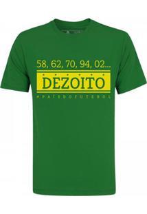 Camiseta Zé Carretilha Brasil Decime Masculina - Masculino