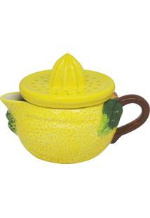 Espremedor De Cerâmicasimav 15X11X11Cm - Linha Lemons