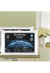 Travesseiro Sonhare- Branco- 13X63X42Cm- Sultansultan