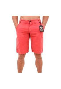 Bermudas Short Jeans Sarja Masculina Estilo E Conforto Cor Salmão