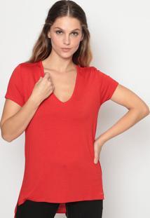 Camiseta Lisa - Vermelhacalvin Klein