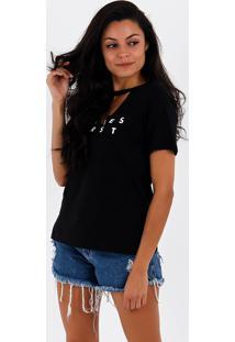 Camiseta Choker Feminina Lara
