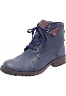 Bota Mega Boots 1009 Azul Marinho