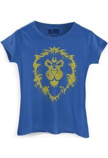 Camiseta Bandup World Of Warcraft Aliança - Feminino