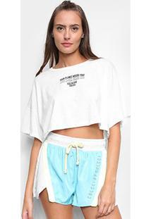 Camiseta Cropped Colcci Eco Active Feminina - Feminino
