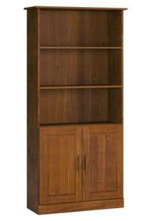 Estante Para Livros 02 Portas 1905T Finestra Office Imbuia