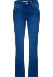 Calça Jeans Five Pockets Skinny - Marinho - 4