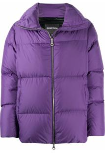 Duvetica Purple Padded Jacket - Roxo