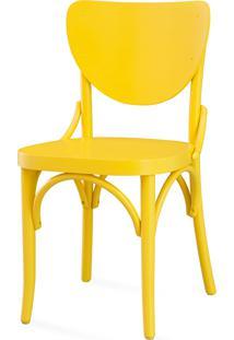Cadeira Cozinha Colorida - Laca Amarela - Eléonore - 44X49,5X82,5 Cm