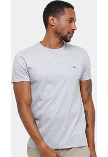 b32db139566 Camiseta Lacoste Básica Jersey Masculina - Masculino