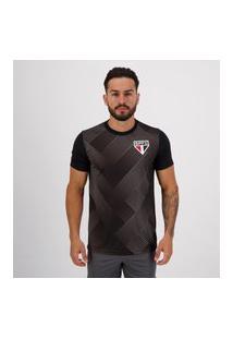 Camisa Sáo Paulo Adams Preta