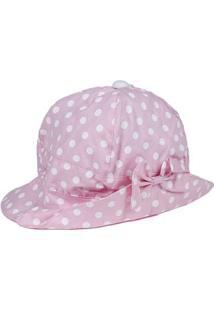 Chapéu Infantil Para Menina - Rosa