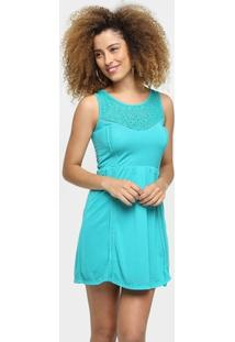 Vestido Sofie Renda Decote Elástico Cintura - Feminino