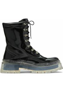 Marc Jacobs Bota The Step Forward - Preto