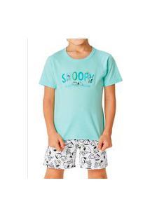 Pijama Infantil Menino Malwee 1000085668 Verde