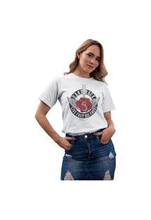 Camiseta Feminina Mirat Hard Rock Branco