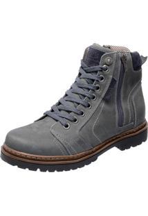 Bota Mega Boots 6015 Cinza