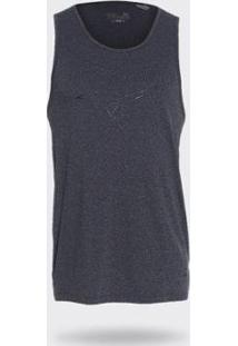Camiseta Regata Mizuno Light Dry Masculina - Masculino-Cinza
