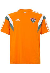 Camisa Adidas Performance Fluminense Viagem Laranja 5bc2e4d17344b