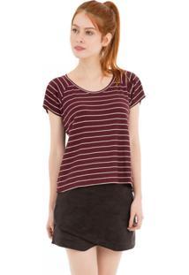 Camiseta Raglan 41Onze Vinho - Tricae