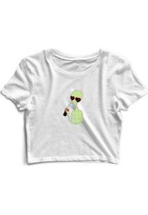 Camiseta Alien Cola Feminina - Feminino
