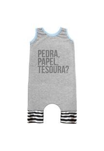 Pijama Regata Comfy Pedra, Papel Tesoura?