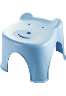 Banquinho Ursinho Jacki Design Lifestyle Azul - Tricae