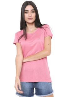 Camiseta Triton Lisa Rosa