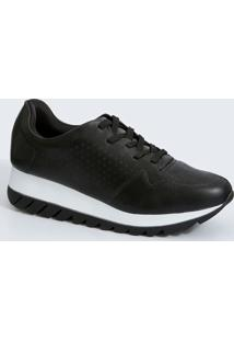 Tênis Feminino Sneaker Plataforma Via Uno