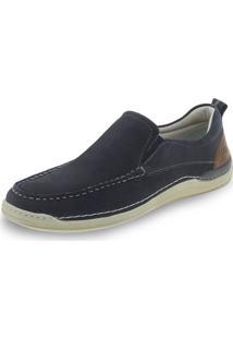 Sapato Masculino Wind Democrata - 233101 Azul 40
