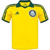 adc56eea12 Camisa Adidas Palmeiras Iii Infantil Amarela