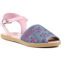 e92aa37089245 Sandália Hello Kitty Infantil Para Menina - Azul Rosa - Feminino-Azul+Rosa