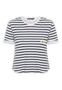 Camiseta Feminina Gabriele - Branco