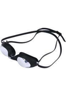 Óculos De Natação Mormaii Snap - Adulto - Preto/Prata